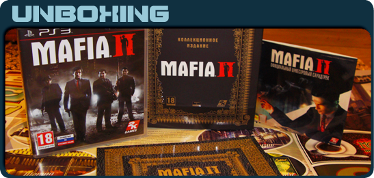Mafia II Collector's Edition Unboxing