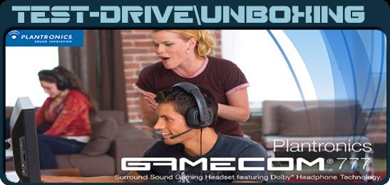 Plantronics GameCom 777 Unboxing