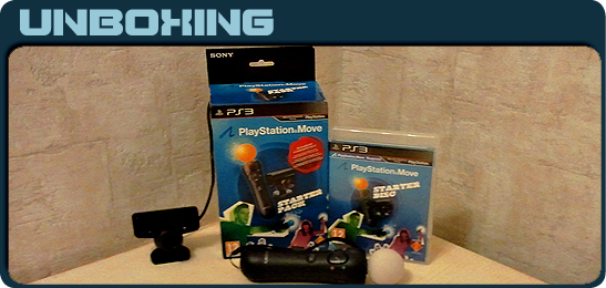 PlayStation Move: Starter Pack Unboxing