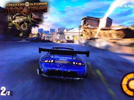 Демо-показ Motorstorm 3: Apocalypse и Killzone 3 в Москве