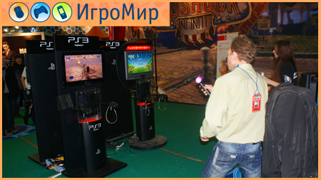 PlayStation Move Игромир Праздник Спорта Tumble
