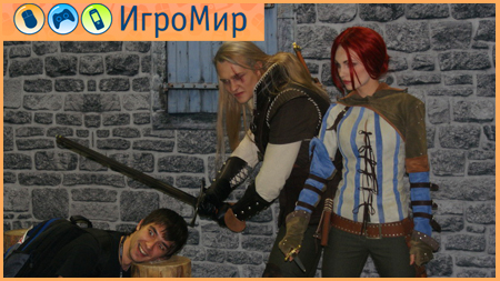 The Witcher 2 Игромир 2010