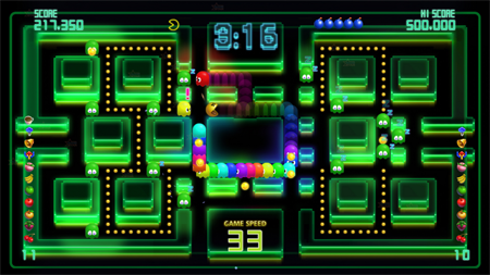 Рецензия на Pac-man Championship Edition DX