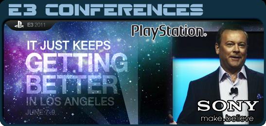 Игровые новости, E3 2011, Пресс конференция Sony