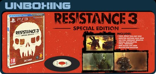 Resistance 3: Специальный комплект Unboxing