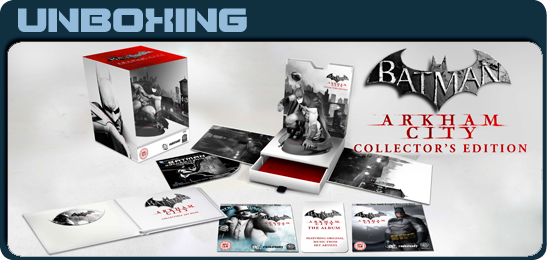 Batman: Arkham City. Collector's Edition Unboxing