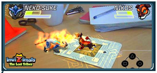 InviZimals на PSP