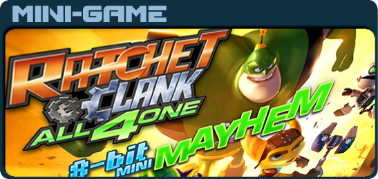 Ретчет и Кланк 8-битная игра