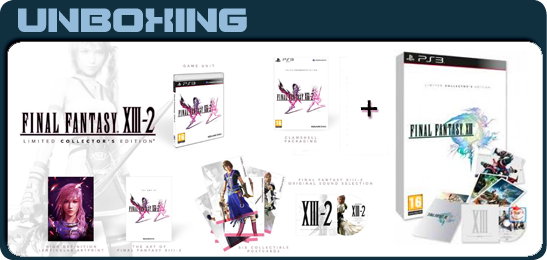 Final Fantasy XIII и XIII-2: Collector's Edition Unboxing