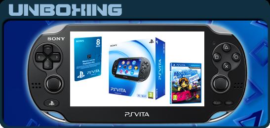 PS Vita Unboxing