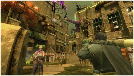 Gotham City Impostors в PSN
