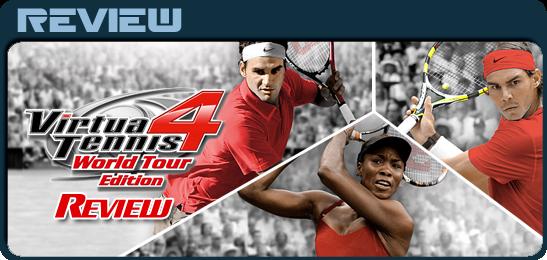 Virtua Tennis 4: Мировая серия Рецензия