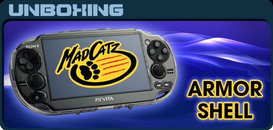 Футляр PS Vita MadCatz ArmorShell Unboxing