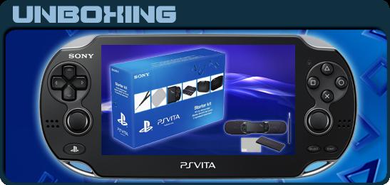 Стартовый набор для PS Vita Unboxing