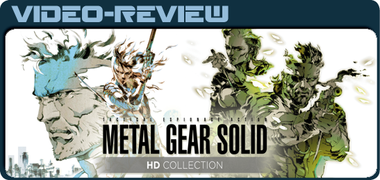 Metal Gear Solid HD Collection for PS Vita видео рецензия