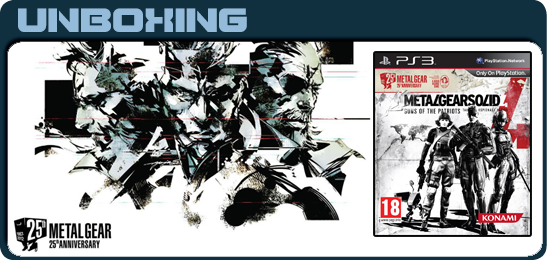 Metal Gear Solid 4: Guns of the Patriots 25th Anniversary Edition