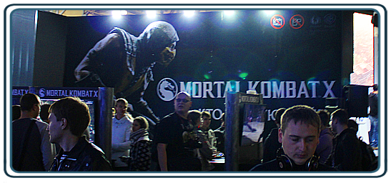 Igromir 2104 and Comic Con Russia 2014 Stands