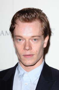 LONDON, ENGLAND - FEBRUARY 29: Alfie Allen attends the DVD launch of the complete first season of 'Game Of Thrones' at Old Vic Tunnels on February 29, 2012 in London, England. (Photo by Tim Whitby/Getty Images)
