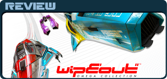 Рецензия на Wipeout: Omega Collection